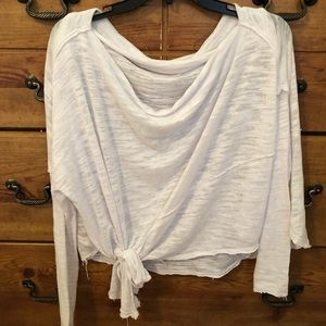 Free people off the shoulder top size small